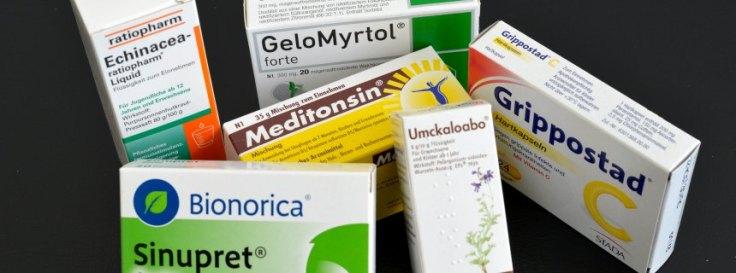 Erkältung / Grippaler Infekt / Medikamente